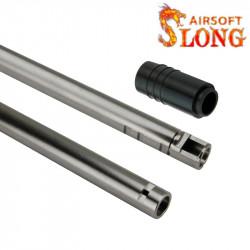 SLONG AIRSOFT canon 6.05mm pour AEG / GBB avec joint AEG - 155mm