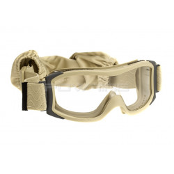Bolle X1000 Tactical Goggles clear lens tan