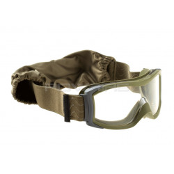 Bolle X1000 Tactical Goggles clear lens Foliage Green