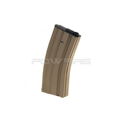 S&T 120 rds metal magazine for M4 Dark Earth - Powair6.com