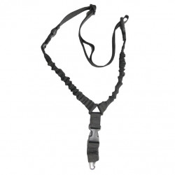 Sangle bungee 1 point QD noire