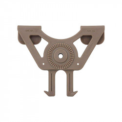 Amomax fixation MOLLE pour holster et porte chargeur Dark Earth -