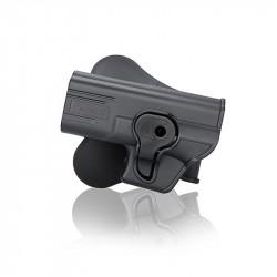 Amomax holster GEN2 pour GLOCK 19 Gaucher -