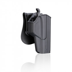 CYTAC Holster rigide T-thumbsmart pour Glock 17 -
