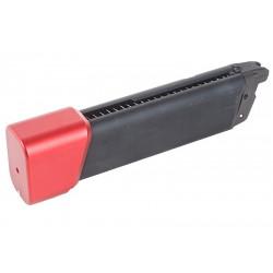 PROWIN Chargeur 36 billes gaz pour Glock 17 / 18 Marui (rouge) - Powair6.com