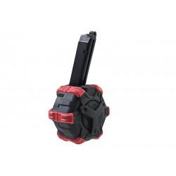 Armorer Works AW custom 350rds gaz Magazine for Glock 17 GBB - Powair6.com