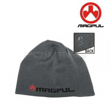 Magpul Bonnet Logotext Skull - Grey - Powair6.com