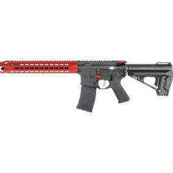 VFC Avalon Leopard Carbine fixed stock rouge (mosfet + mallette rigide)