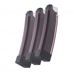 ASG 75rds magazine for ASG SCORPION EVO 3 A1 (3 pack, SMOKY) -
