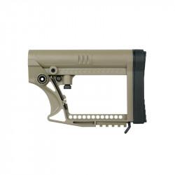 KUBLAI Modular Carbine Buttstock for M4 - Dark Earth -