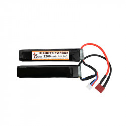 IPOWER batterie LIPO 7.4V 2200Mah 20C double stick (dean)