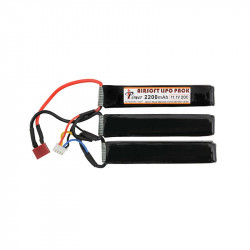 IPOWER 11.1v 2200mah triple stick lipo battery (dean)