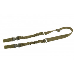 Sangle bungee 2 points QD Olive - Powair6.com