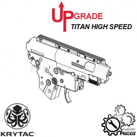 Préparation gearbox STAGE 2 pour KRYTAC M4 - Torque avec TITAN