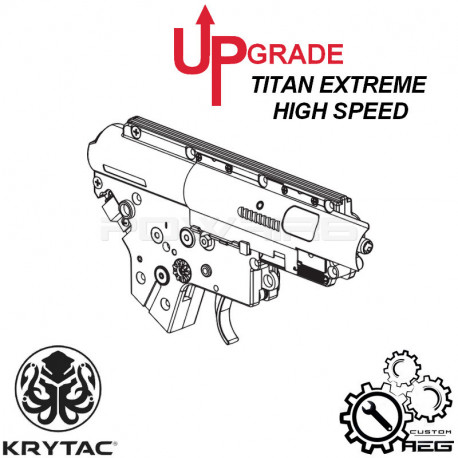 Pack Upgrade TITAN Extreme High speed pour KRYTAC M4