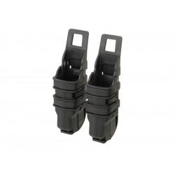 FMA FAST Magazine Holster Set for pistol Black -