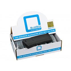 Guarder BLUEBOX pack de 10 chargeurs Mid-Cap pour AEG M4 -