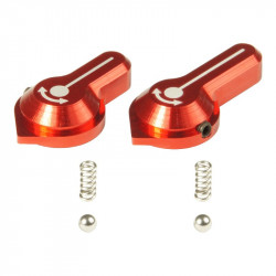Maxx Model CNC Low Profile Selector Lever (Style A) (red) - VFC SCAR-L/H