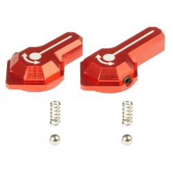 Maxx Model selecteurs de tir CNC rouge pour VFC SCAR-L/H - Style B