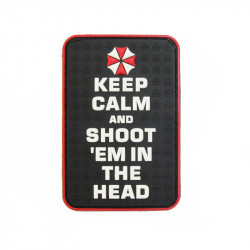 KeepCalm and Shoot Velcro patch -