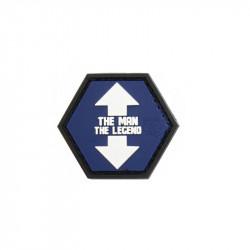 Patch Velcro THE MAN / THE LEGEND Hexagon