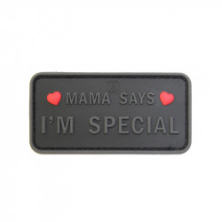 MAMA SAYS - I´M SPECIAL Velcro patch ( Selectable) -