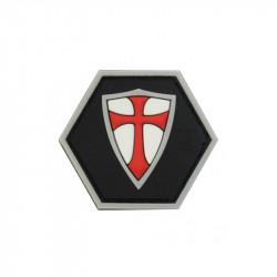 RECTE FACIENDO SHIELD Hexagon Velcro patch