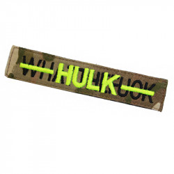 transformed to - HULK - nametape Velcro patch -