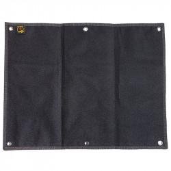 JTG Foldable Morale velcro Patch Panel - Black