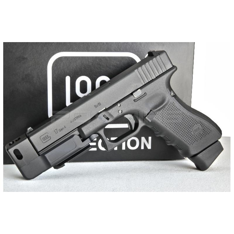 Aluminium CNC Compensator for Glock 17