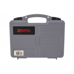 Nuprol Pistol Hard case with Cutted foam - Grey -