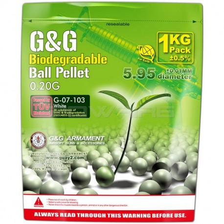 G&G Armament 0.20gr bio BBs (1kg) -