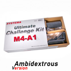Systema Challenge Kit Ultimate ambidextre M4A1 MAX2 M110 -