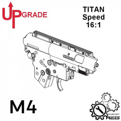 Pack upgrade Speed AEG M4 / HK416 avec TITAN -