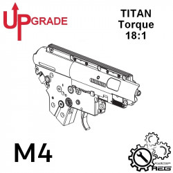 Upgrade pack TORQUE AEG M4 with TITAN