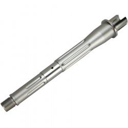 Kublai canon externe CNC 7.5 inch pour M4 AEG - Silver