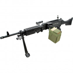S&T réplique Mitrailleuse AEG ST240 M240 -