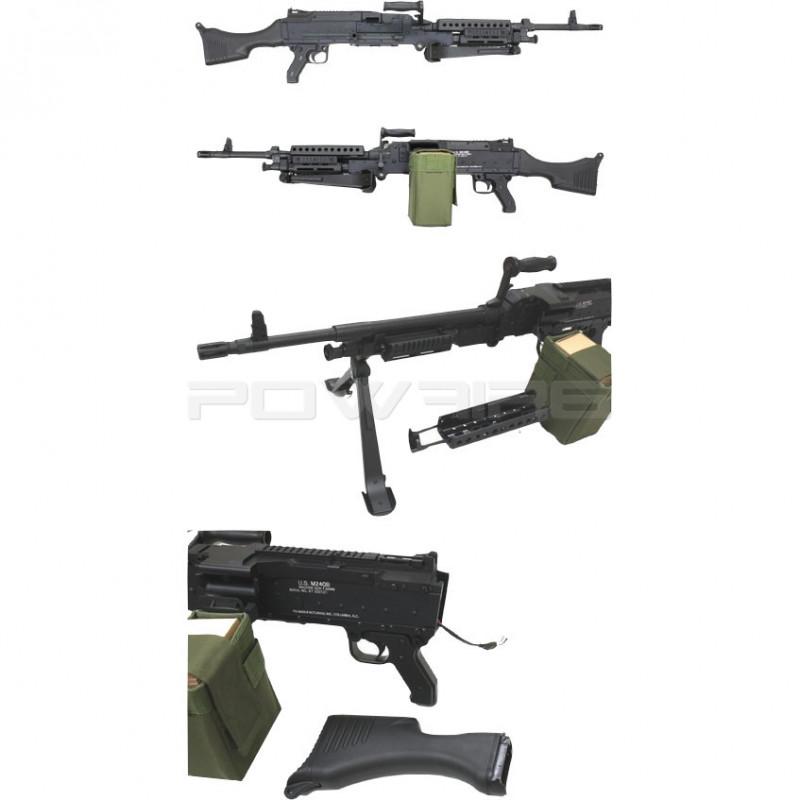 S&T ST240 M240 Machine gun AEG