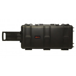 Nuprol Medium Gun Case 75 x 33 x 13 precutted foam - Black -