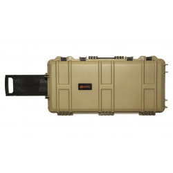 Nuprol Medium Gun Case 75 x 33 x 13 precutted foam - Tan -