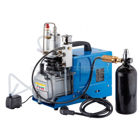 310 bars electric compressor for HPA tank