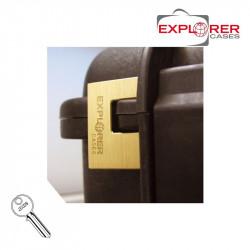 Explorer Cases Cadenas à clef -