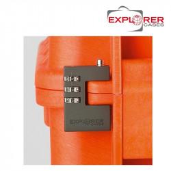 Explorer Cases Cadenas à combinaison 3 chiffres -