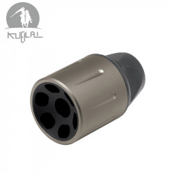 KUBLAI Style SLR Flash hider - Brown