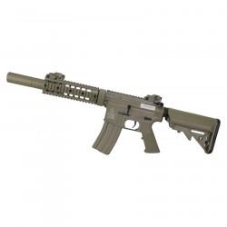 Cybergun Colt M4 Silent OPS AEG Tan