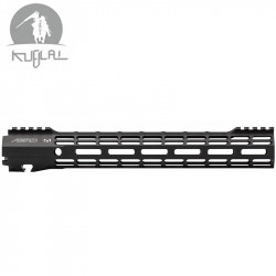 Kublai type Atlas S-ONE M-LOK CNC rail for AEG 12 inch - black -
