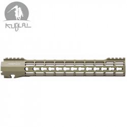 Kublai RIS CNC type Atlas S-ONE Keymod pour AEG 12 inch - DE