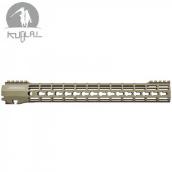 Kublai type Atlas S-ONE Keymod CNC rail for AEG 15 inch - black -
