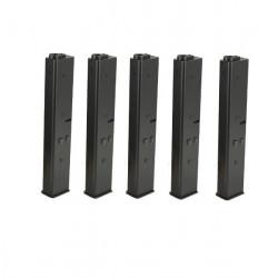 ARES pack de 5 chargeurs type 9mm pour M4 AEG -