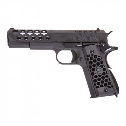 WE 1911 GEN 2 Hex cut GBB full metal Noir -
